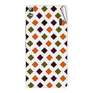 Garmor Designer Mobile Skin Sticker For Lenovo P780 - Mobile Sticker