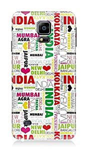 Samsung Galaxy Note 4 3Dimensional High Quality Designer Back Cover by 7C