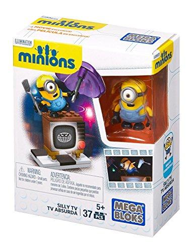 Minions-Vamos-s-reparar-la-TV-juego-de-construccin-Mattel-CNF49