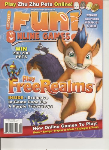 Beckett Fun Online Games Magazine (Play free Realms; New online games to play, Issue #3 2010)