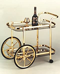 Big Wheel Serving Cart