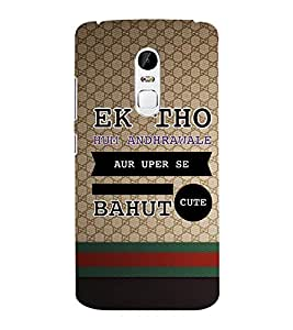 EPICCASE cute quotes Mobile Back Case Cover For Lenovo Vibe X3 (Designer Case)