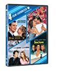 Cover art for  Romance Four Film Favorites (The Bachelor / Bed of Roses / Laws of Attraction / Don Juan DeMarco)