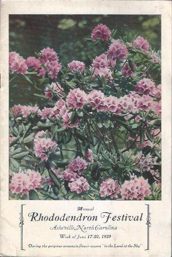 Annual Rhododendron Festival, Asheville, North Carolina PDF
