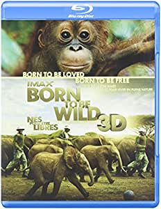 IMAX Born to Be Wild [Blu-ray 3D + Blu-ray + DVD] (Bilingual)
