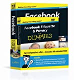 img - for Facebook For Dummies, Book + DVD Bundle book / textbook / text book