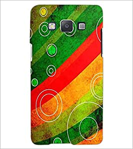 PrintDhaba Pattern D-2341 Back Case Cover for SAMSUNG GALAXY A5 (Multi-Coloured)