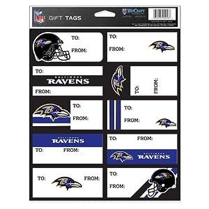 Baltimore Ravens Gift Tags