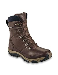 The North Face Chilkat Leather Insulated Tall Boot Mens Demitasse Brown/Cub Brown 12.5