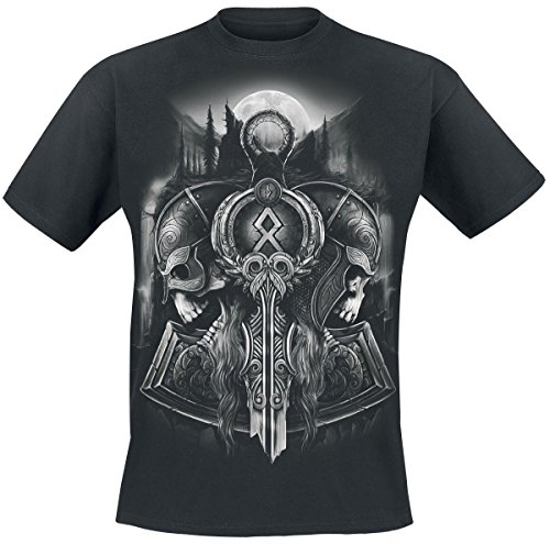 Toxic Angel Guardian Of Midgard T-Shirt nero M