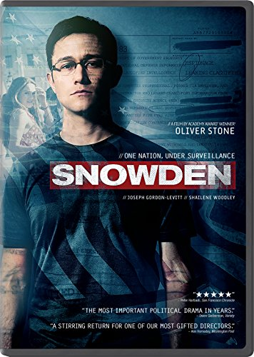 DVD : Snowden (Snap Case, Slipsleeve Packaging)