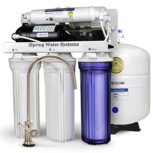 iSpring-RCC7P-WQA-GOLD-SEAL-5-Stages-75GPD-Reverse-Osmosis-Water-Filter-System-featuring-Real-not-Permeate-Booster-Pump-110v-220v-compatible-21-Waste-ratio-ideal-for-Low-Water-Pressure-Homes