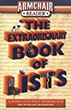 img - for Armchair Reader Extraordinary Book of Lists (Armchair Reader) book / textbook / text book