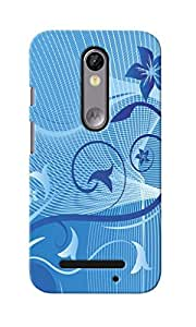 CimaCase Abstract Designer 3D Printed Case Cover For Motorola Moto X Force
