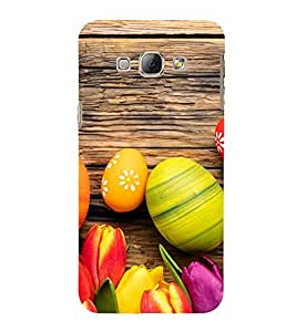 Ester Eggs 3D Hard Polycarbonate Designer Back Case Cover for Samsung Galaxy A8 (2015 Old Model) :: Samsung Galaxy A8 Duos :: Samsung Galaxy A8 A800F A800Y