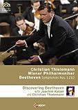 BEETHOVEN Sinfonien 1, 2 & 3 Christian THIELEMANN (+ 170 min. Doku mit Joachim Kaiser) 3 DVD title=