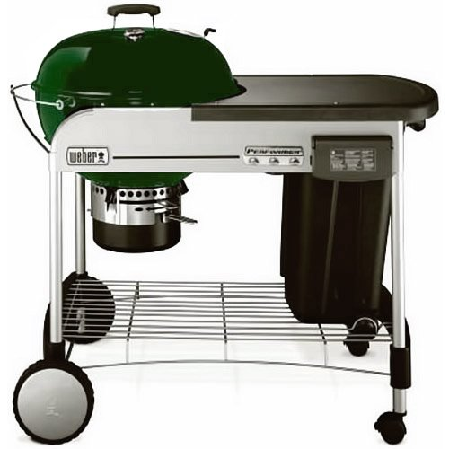 Weber 1427001 Performer Charcoal Grill, Green
