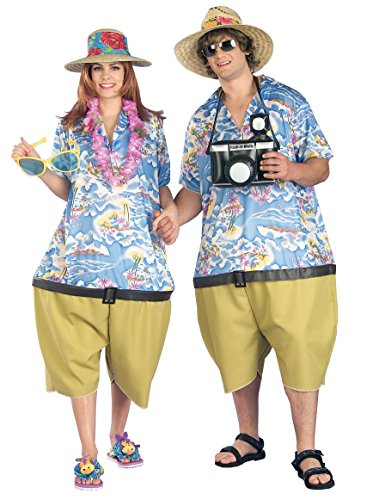 Couple's Tropical Tourist Costumes