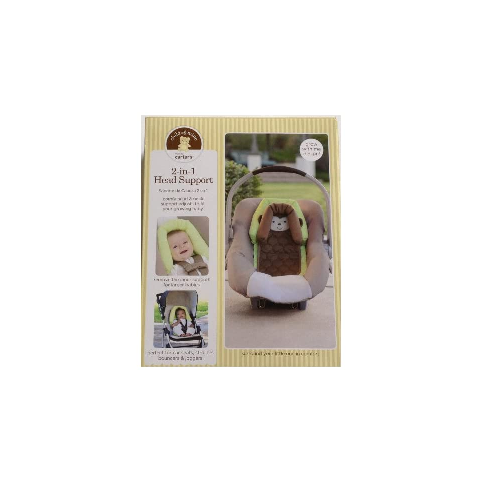f5970854f Carters Child of Mine 2 in 1 Head Support Monkey Perfect for car seats  strollers bouncers joggers