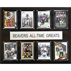 Buy NCAA Football Oregon State Beavers All-Time Greats Plaque by C&I Collectables