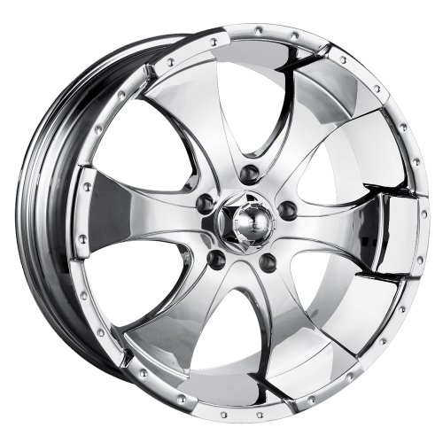 17x8 ION Alloy Style 136 (Chrome) Wheels/Rims 6x139.7 (136 7883C)