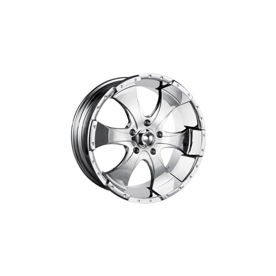 17x8 ION Alloy Style 136 (Chrome) Wheels/Rims 6x139.7 (136 7883C)