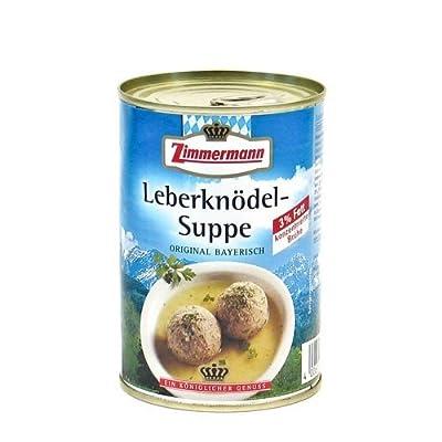 Original Bayerische Leberknödel-Suppe (400 ml) von Fleischwerke Zimmermann auf Gewürze Shop