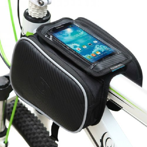 Best Prices! Weanas® Bicycle Cycling Bike Frame Pannier Bag Rack Top Tube Saddle Bag Double Side wi...