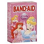 Band Aid Adhesive Bandages, Disney Princess, Assorted Sizes, 20 bandages