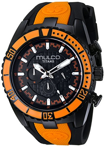 MULCO MW5-1836-615 UNISEX BLACK LEATHER CASE RRP £168 WATCH