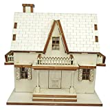 Doll House DIY Plywood Kit - Gothic Attic House ★Made in Korea