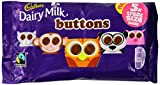 Cadbury Dairy Milk Buttons 5 Treatsize Chocolate Bags 70 g