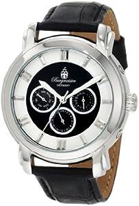 Burgmeister Toledo BM123-122 - Reloj de caballero automático, correa de piel color negro