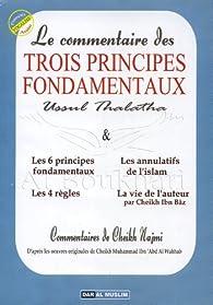Le commentaire des Trois principes fondamentaux : Ussul Thalatha par Najimi