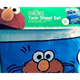 Sesame Street Comic Twin Sheet Set