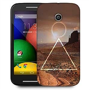 Snoogg Eclipse Zoyd Designer Protective Phone Back Case Cover For Motorola E / Moto E