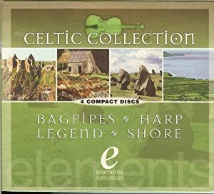 Celtic Collection Bagpipes Harp Legend Shore