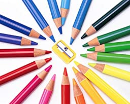 Colored Pencils Set,Drawing Pencils by heartybay,36 Colors for Adults and Kids Sketching & Drawing,