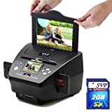 NEW!SVP PS9700 Black(with 2GB) 3-in-1 Digital Photo/Negative Films/Slides Scanner with built-in 2.4