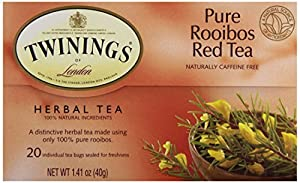 Twinings Tea Red African Rooibos Tea, 20 ct by Twinings Tea