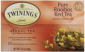 Twinings Red Tea Bags Pure Rooibos -- 20 Tea Bags