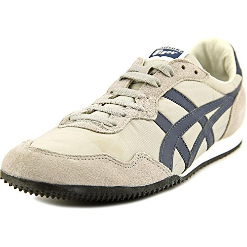 Onitsuka Tiger Serrano Fashion Sneaker,Grey/Navy,14.5 M US Women's/13 M US Men's