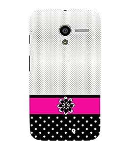 Dots Pattern Design 3D Hard Polycarbonate Designer Back Case Cover for Motorola Moto X XT1058 :: Motorola Moto X (1st Gen)