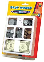 Educational Insights Play Money - Coins And Bills by Educational Insights