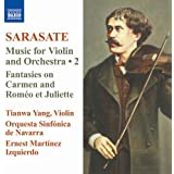 サラサーテ:ヴァイオリンと管弦楽のための作品集 第2集