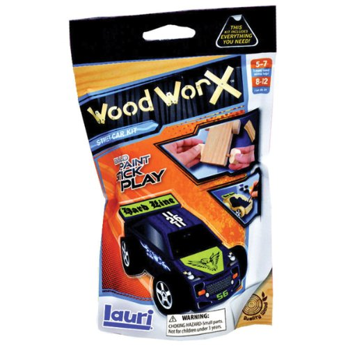 Lauri Toys Wood WorX Street Car Starter Kit - 1