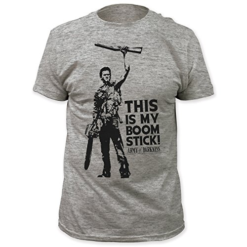 Army of Darkness This is my Boomstick Mens Grey T-shirt M
