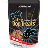 Natural, Healthy, Fat Free Dog Treats, Controls Weight, Made in USA (8 Oz.) Beef Flavor, Extra Tasty and Great for Dog Training