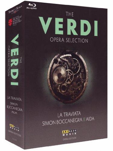 The Verdi Opera Selection - La Traviata / Simon Boccanegra / Aida [Blu-ray]