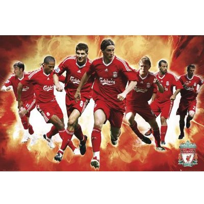Liverpool FC. Poster – Players